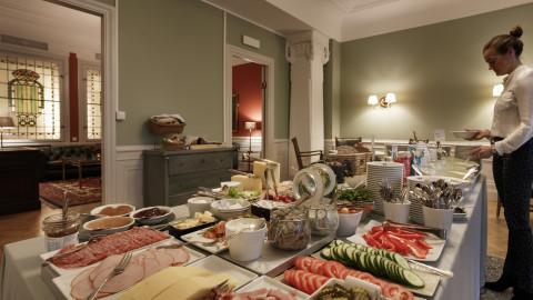 Breakfast Buffet Hotel Esplanade Strandvagen Stockholm