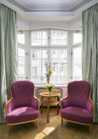 Hotel Esplanade rooms interior art nouveau jugend stockholm