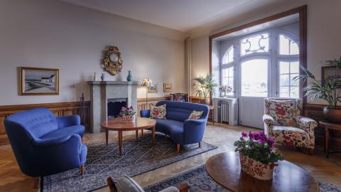 Living room 1st floor Hotel Esplanade Strandvagen Stockholm (2)