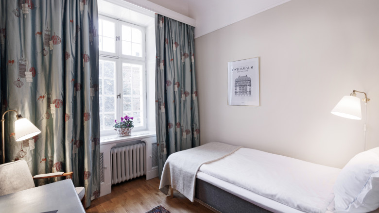 Standard Single room 1 Hotel Esplanade Strandvagen Stockholm