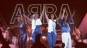 ABBA Live At Wembley Arena Press Image - Credit Anders Hanser (Premium Rockshot)